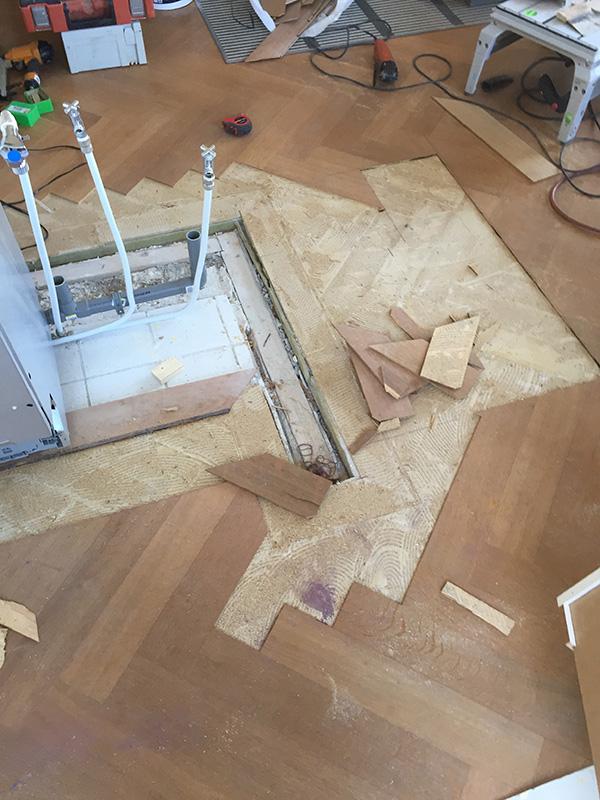 YPM Parket houten vloer repareren